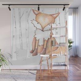 Flynn Fox Wall Mural
