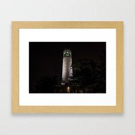 Coit Tower Framed Art Print