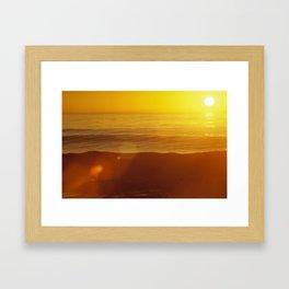 Ocean Sunrise II Framed Art Print