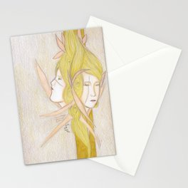 A World Of Familiar Eyes. Stationery Cards