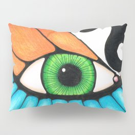 Philosophical Eye Pillow Sham