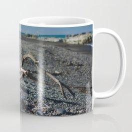 findings at ward beach Coffee Mug