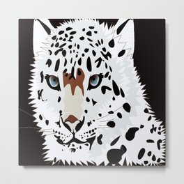 Leopard Metal Print