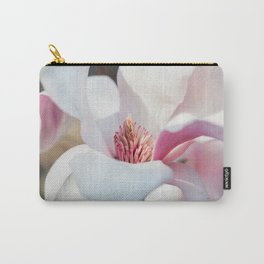 Macro Magnolia Carry-All Pouch