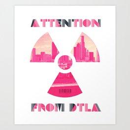 DTLA Art Print
