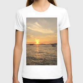 Hong Kong West Kowloon Cultural District Sunset is filled with Beauty and Tranquility T-shirt