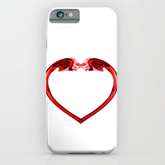 Love Smoke Red 2 iPhone & iPod Case