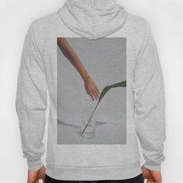 Hand with a Leaf Hoody