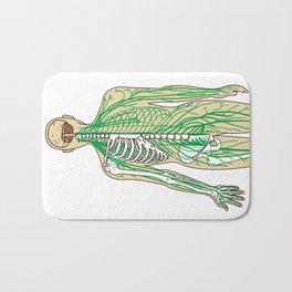 Human neural pathways Bath Mat