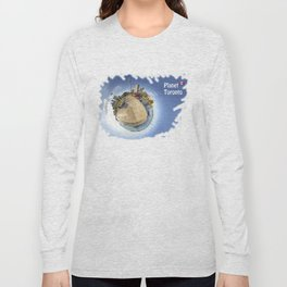 Planet Toronto Wall Paper Long Sleeve T-shirt