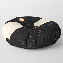 Miss Universe Floor Pillow