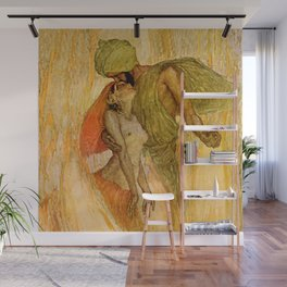 """""""God and the Bajadere"""" by Erich Schutz Wall Mural"""