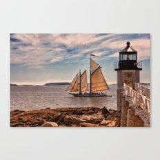 Keeping Vessels Safe Canvas Print