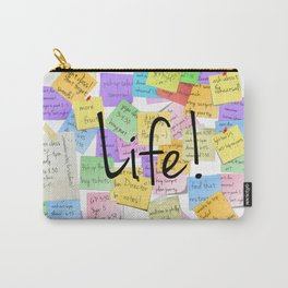 life is a series of notepads Carry-All Pouch
