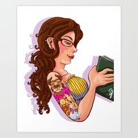 Show Me the Girl Art Print