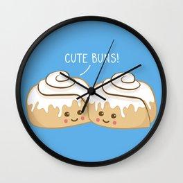 cute buns! Wall Clock
