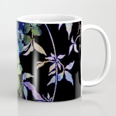 garland of flowers black version Coffee Mug