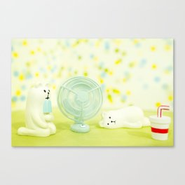 Chilling Too Canvas Print