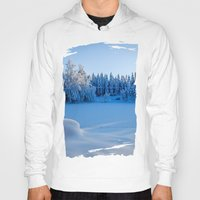 swedish Hoodies featuring Swedish Winter by Mark W