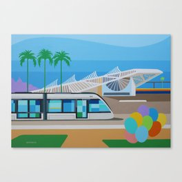 VLT AND MUSEUM OF TOMORROW Canvas Print
