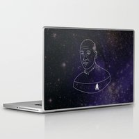 picard Laptop & iPad Skins featuring Captain Jean-Luc Picard by lunsh