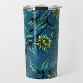 Queen of the Night - Teal Travel Mug