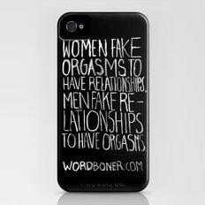 Orgasms iPhone (4, 4s) Slim Case