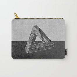 Geometric Triangle Carry-All Pouch