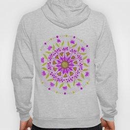 Floral Grove Mandala Hoody