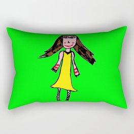 ELiSAVET self-portrait Rectangular Pillow