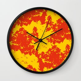 Song of nature - Sunset Wall Clock
