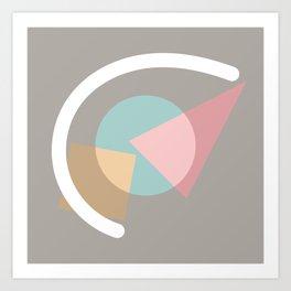 Imperfect Geometries #1 Art Print