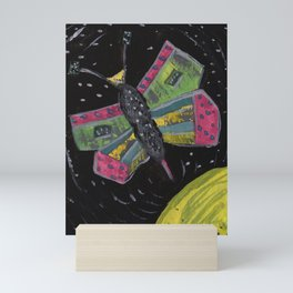 Squareland -squatterfly Mini Art Print