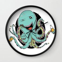 Octo Party Wall Clock