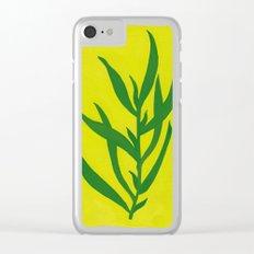 Leaf Shadow Clear iPhone Case