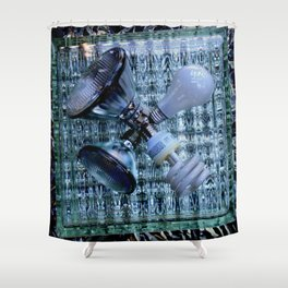 Burn-out Shower Curtain