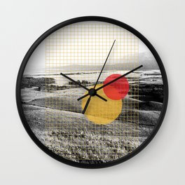 Montana plain Wall Clock