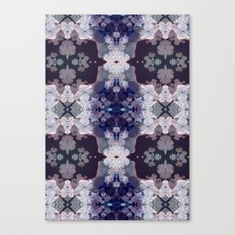 Big Fat Purple Pattern Canvas Print