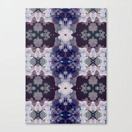 Big Fat Purple Pattern Canvas Print