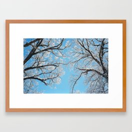 February I Framed Art Print