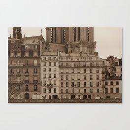 Facades Canvas Print
