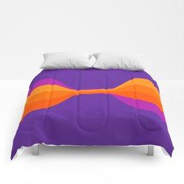 Purple Twist Comforters