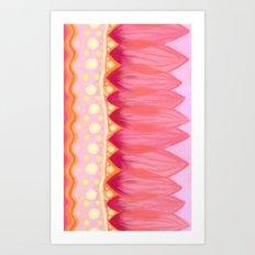 Lotus Petals Art Print