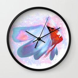 Fishy Fish Wall Clock