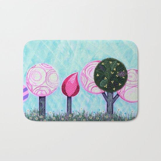 Pink grove Bath Mat