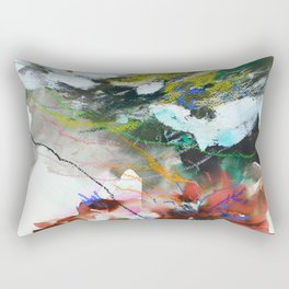 Day 84: In most cases reflecting on things in a cosmic context reveals triviality. Rectangular Pillow