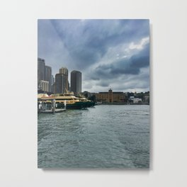 Sydney Ferry Terminal Metal Print