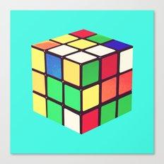 Do You Even Cube, Bro?  |  Rubik's Canvas Print