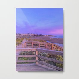 Moonstone Beach California Metal Print