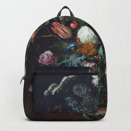 Botanical still life Backpack